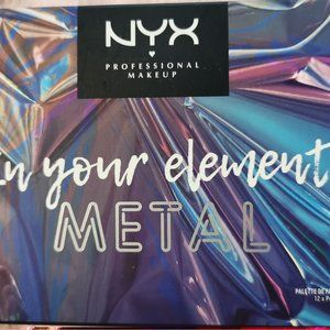 NYX Metalic eyeshadow